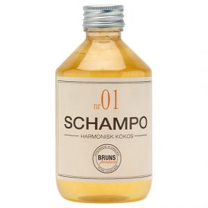 BRUNS Products Schampo nr 01 - Harmonisk Kokos, 330 ml