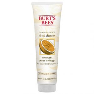 Burts Bees Orange Essence Facial Cleanser, 120 g