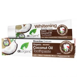 Dr. Organic Coconut Oil Toothpaste, 100 ml