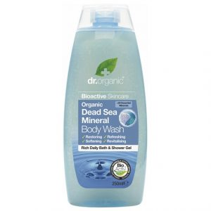 Dr. Organic Dead Sea Mineral Body Wash, 250 ml