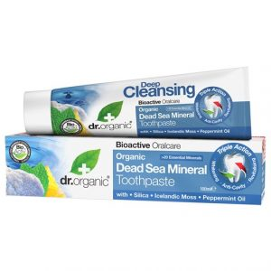 Dr. Organic Dead Sea Mineral Toothpaste, 100 ml