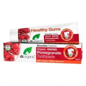 Dr. Organic Pomegranate Toothpaste, 100 ml
