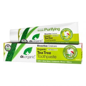 Dr. Organic Tea Tree Toothpaste, 100 ml