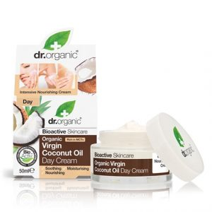 Dr. Organic Virgin Coconut Oil Day Cream, 50 ml