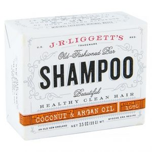 J.R. Liggetts Old-Fashioned Coconut & Argan Oil Shampoo Bar
