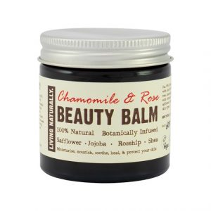 Living Naturally Chamomile & Rose Beauty Balm, 60 g