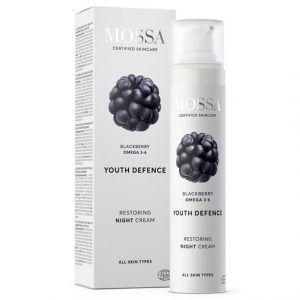 Mossa Youth Defence Restoring Night Cream, 50 ml