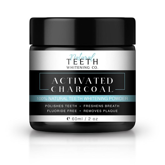 Natural Teeth Whitening Co. Activated Charcoal Powder, 50 g