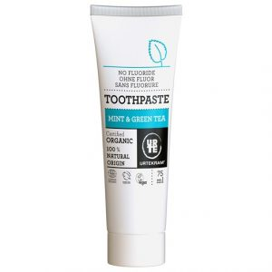 Urtekram Mint & Green Tea Toothpaste, 75 ml