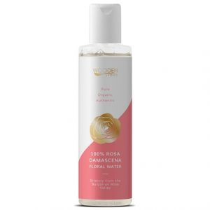 Wooden Spoon 100% Rosa Damascena Floral Water, 200 ml