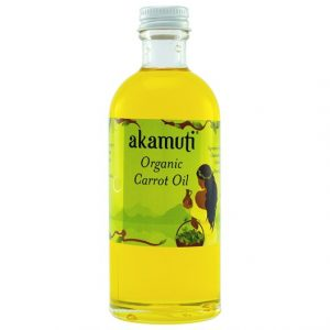 Akamuti Organic Carrot Oil, 100 ml