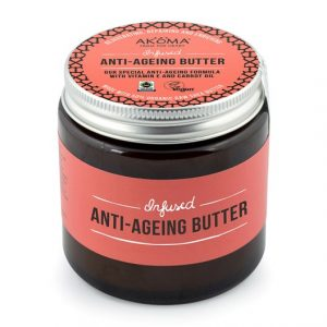 Akoma Shea Body Butter with Argan & Rosehip Oil, 125 ml
