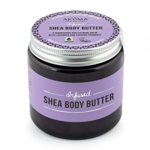 Akoma Shea Body Butter with Lavender & Evening Primrose, 120 ml
