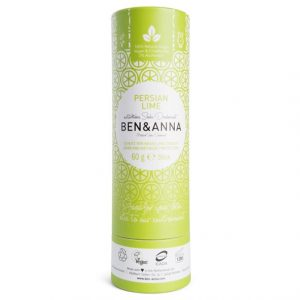Ben & Anna Natural Soda Deo Stick Persian Lime, 60 g