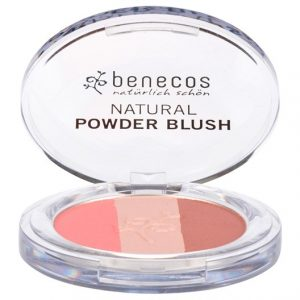 Benecos Natural Powder Trio Blush Fall in Love, 5 g
