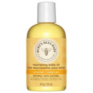 Burts Bees Baby Bee Nourishing Baby Oil, 115 ml