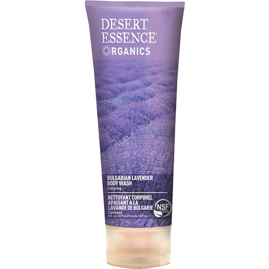 Desert Essence Bulgarian Lavender Body Wash, 237 ml