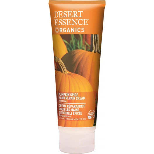 Desert Essence Pumpkin Spice Hand Repair Cream, 118 ml