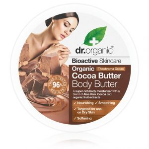 Dr. Organic Cocoa Butter Body Butter, 200 ml