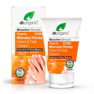 Dr. Organic Manuka Honey Hand & Nail Cream, 125 ml