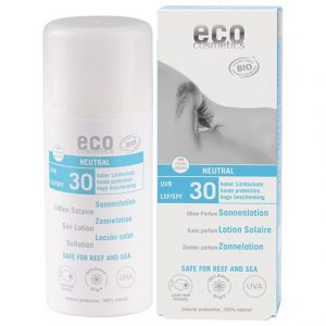 Eco Cosmetics Ekologisk Sollotion Neutral högt skydd SPF 30, 100 ml