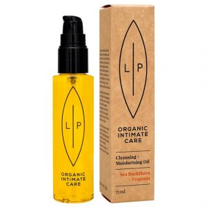 Lip Intimate Care Cleansing + Moisturising Oil - Sea Buckthorn & Fragonia, 75 ml