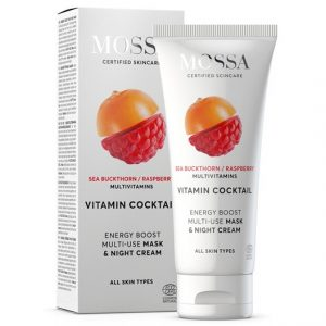 Mossa Vitamin Cocktail Energy Boost Multi-Use Mask, 60 ml