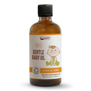 Wooden Spoon Gentle Baby Oil, 100 ml