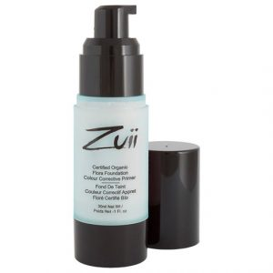 Zuii Organic Flora Colour Corrective Primer - Mint, 30 ml