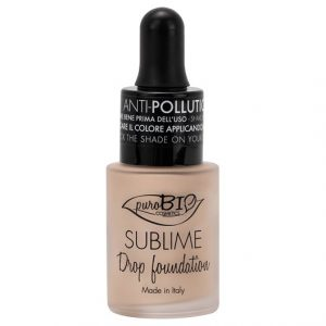 puroBIO Cosmetics Sublime Drop Foundation, 15 ml